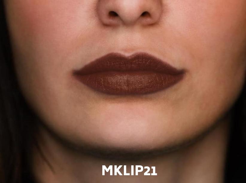 Matte intense lipstick