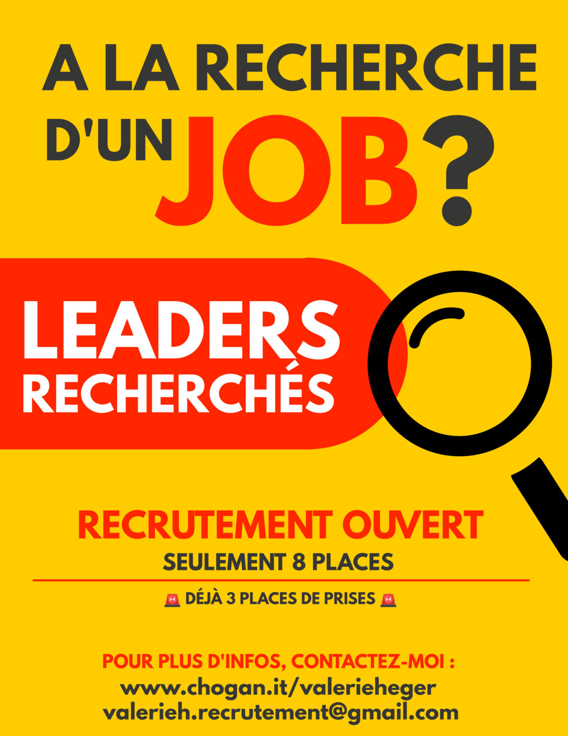 A la recherche d'un JOB